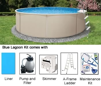 Blue lagoon Above Ground Pool Kits - Swimming Pool ...