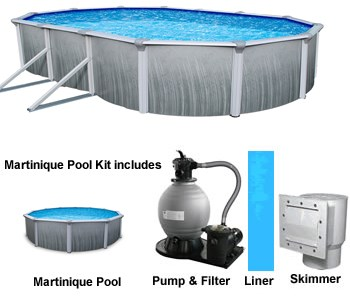 Martinique Above Ground Pool Kits