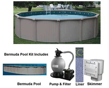 Bermuda Above Ground Pool Kits - Swimming Pool - INYOPools.com