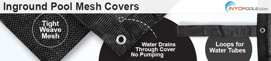 Inground Pool Mesh Winter Cover