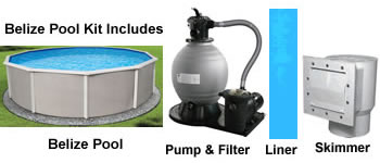 Belize Above Ground Pool Kits