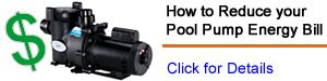pool pump energy savings