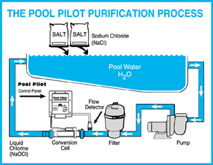 Above ground pools Swimming pool water flow diagram