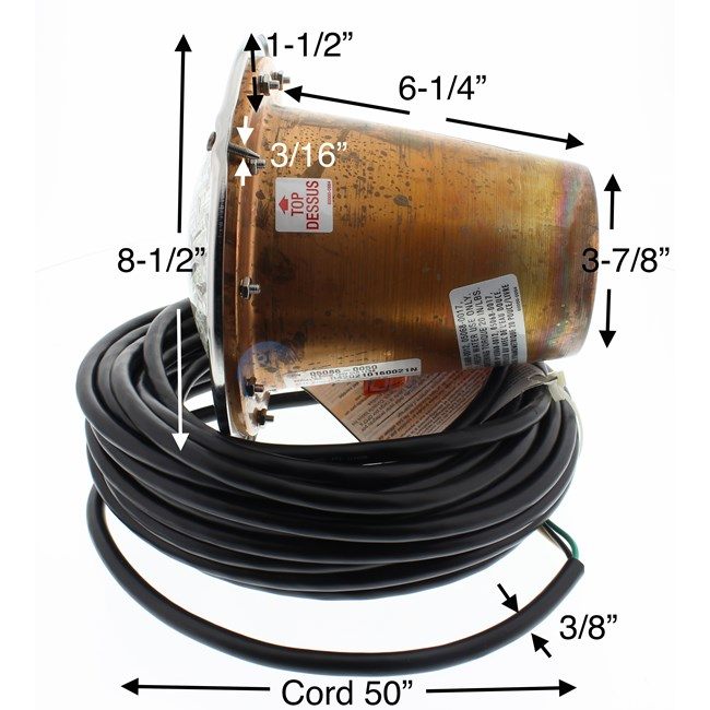 Sta Rite Swimquip Underwater Light 500 Watt 120 Volt 25