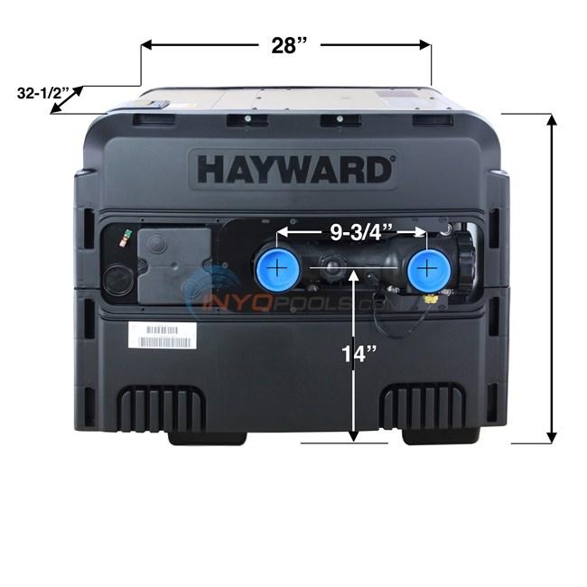Hayward Pool Heater Universal H Series Low Nox 400k Ng