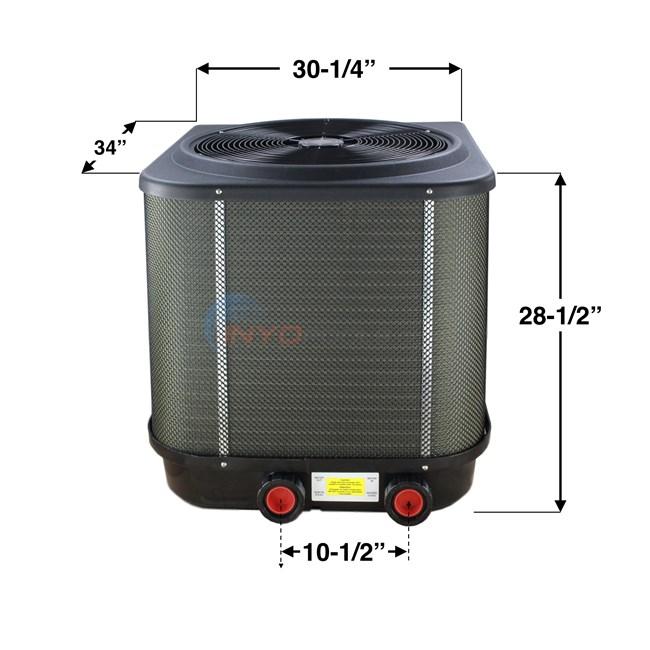 Pool Heat Pump >> Hayward HeatPro Heat Pump 50,000 BTU - HP50TA - INYOPools.com