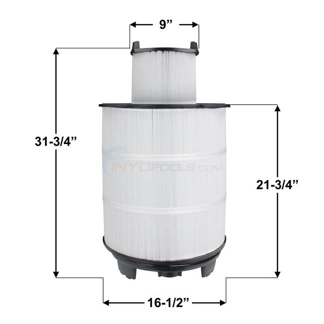 Pureline Replacement Sta Rite S7m120 Filter Cartridges