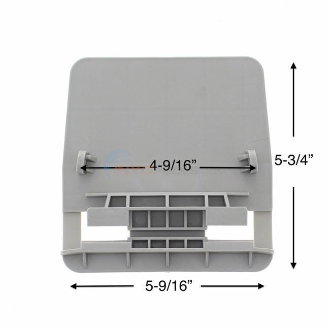 Wilbar Resin Base Plate Single 1320170 For Aruba Upright