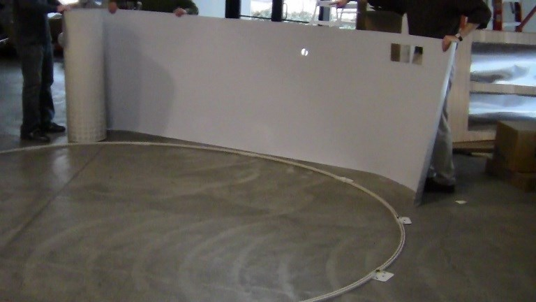 How To Assemble An Above Ground Pool Part 2 Erecting The Wall