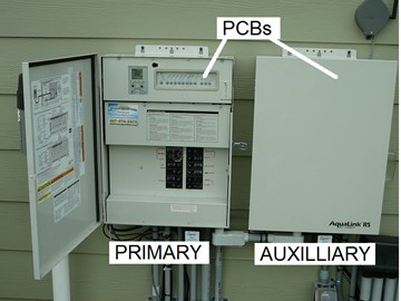 How To Replace a Jandy AquaLink RS Auxilliary Power Center ... Jandy Aqualink Wiring Diagram on