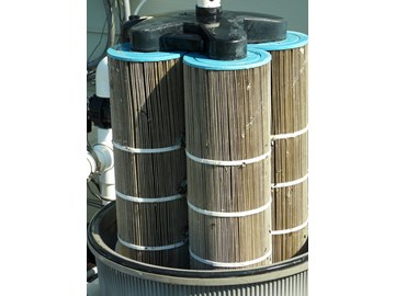 How to replace the cartridges on a jandy cl580 filter - How to clean a dirty swimming pool ...