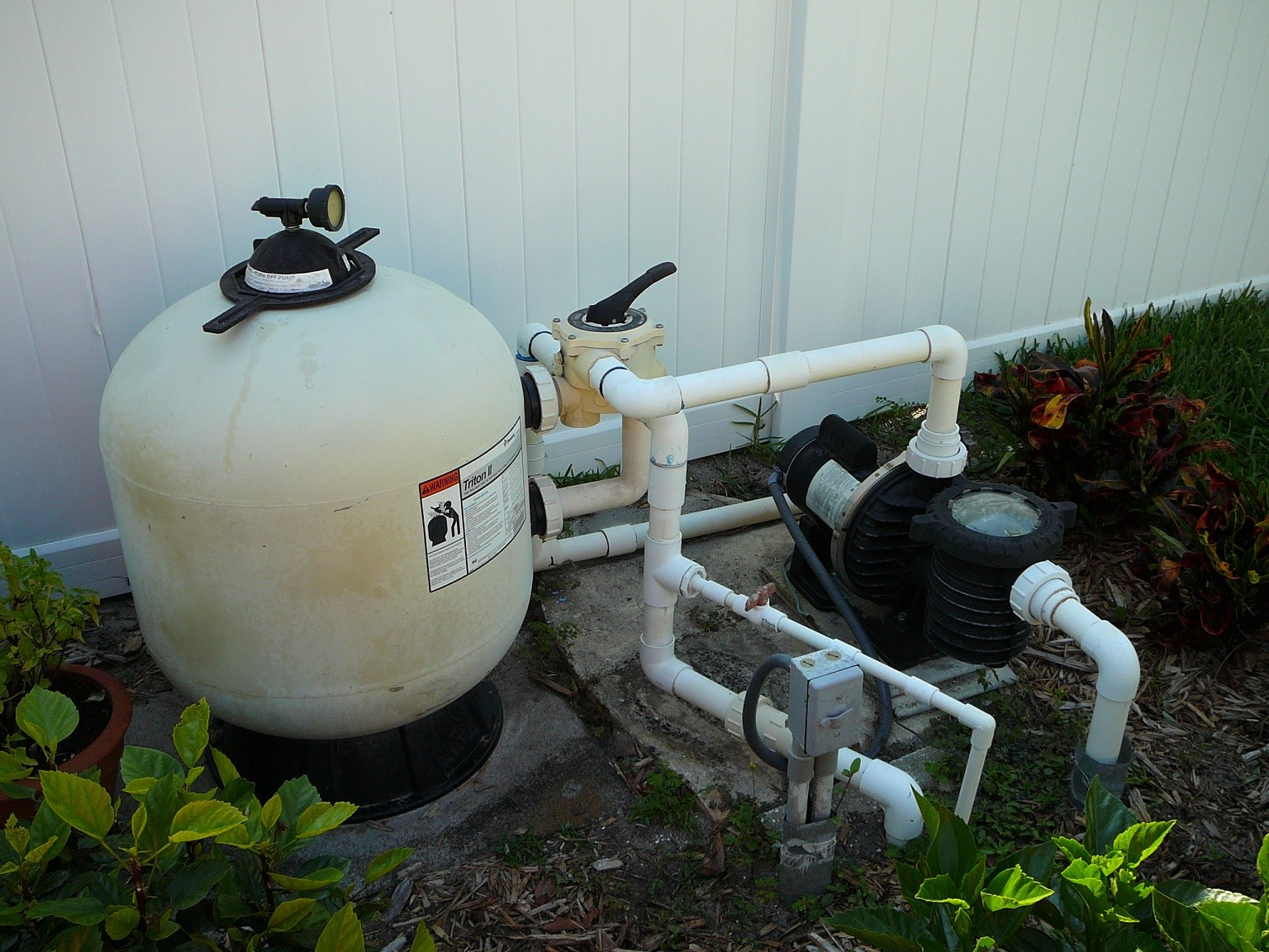 How To Install A Pentair Triton 2 Side Valve Sand Filter