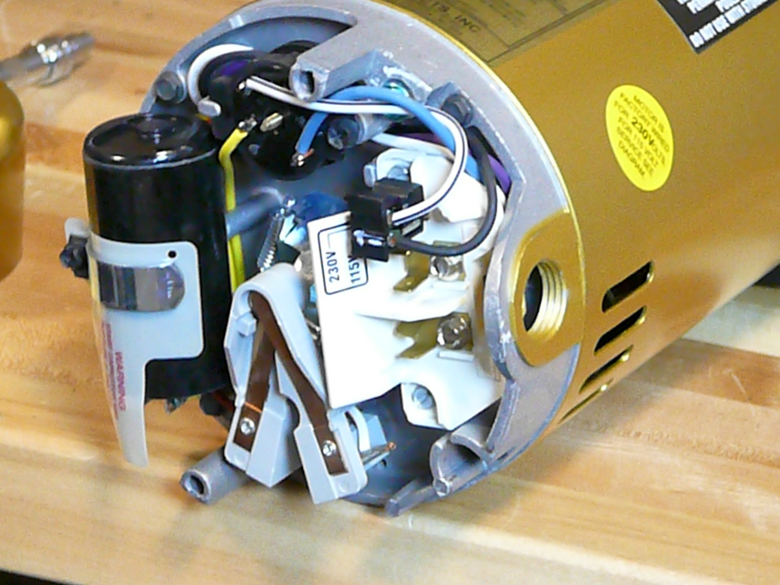 how to replace ao smith motor parts overview inyopools com Electric Motor Capacitor Wiring Diagram