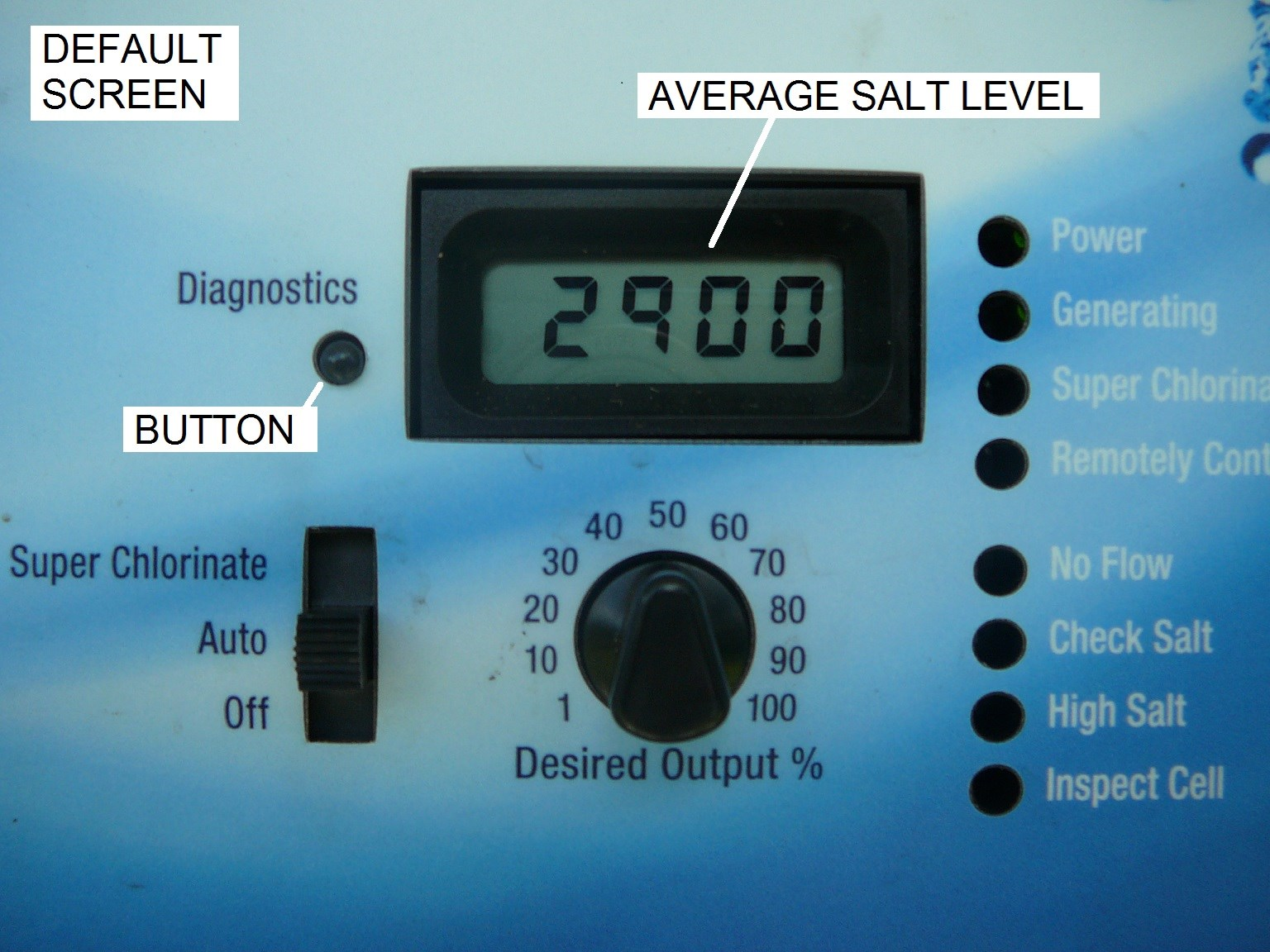 how to add salt to pool first time