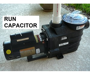 how to tell if pool pump capacitor is bad
