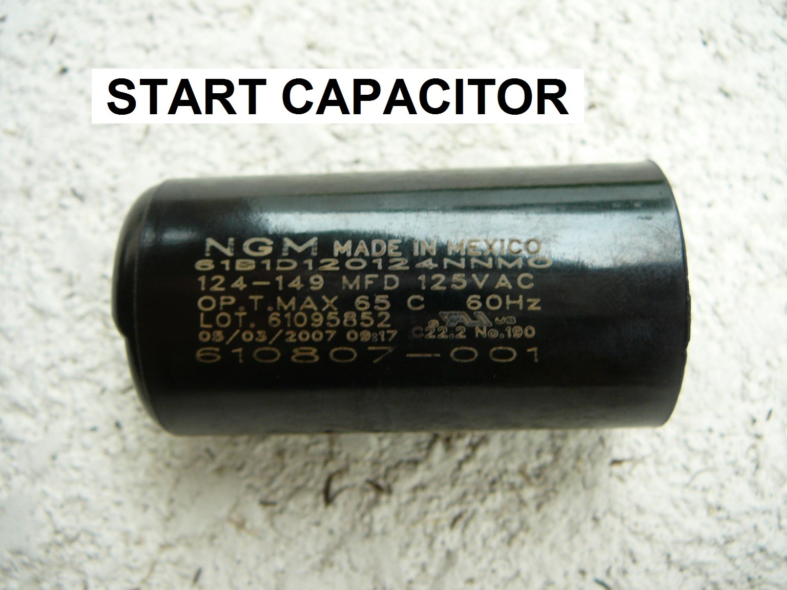 How To Short Out A Pool Motor Capacitor