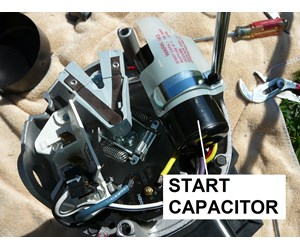 How To Select the Right Capacitor For Your Pool Pump Motor ...  Phase Motor Wiring Diagram For Bluffton Pool on