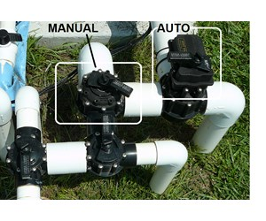 how to use a pool valve actuator com step 1 auto vs manual