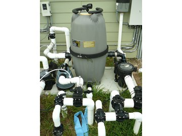 How to set up in ground pool equipment part 1 - Swimming pool pump and filter diagram ...