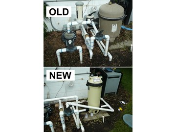 How to replace a pool system de filter with a cartridge - Swimming pool filter system price ...