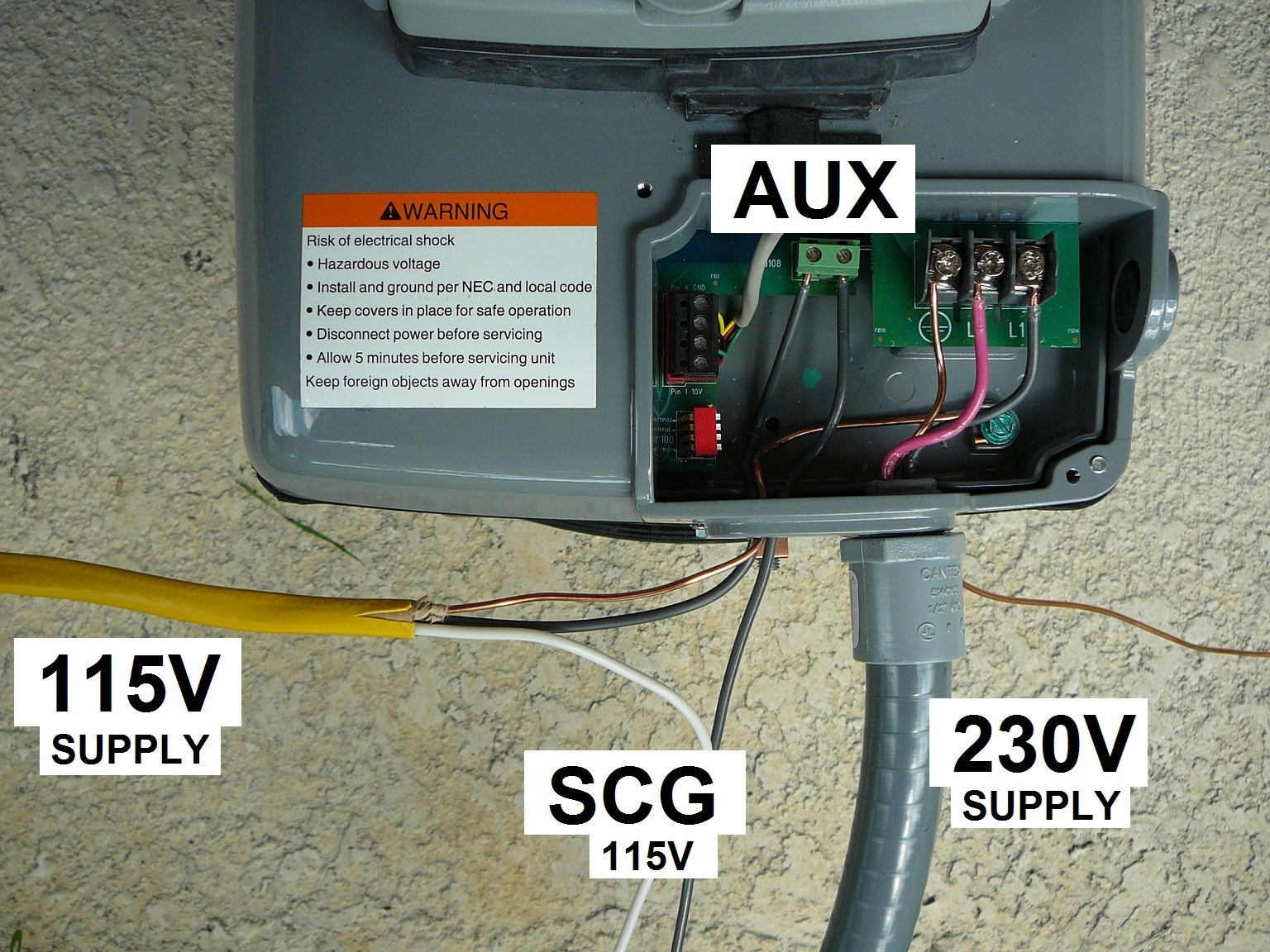 How to wire a 115v scg to a century variable speed 270 for How to make a variable speed motor