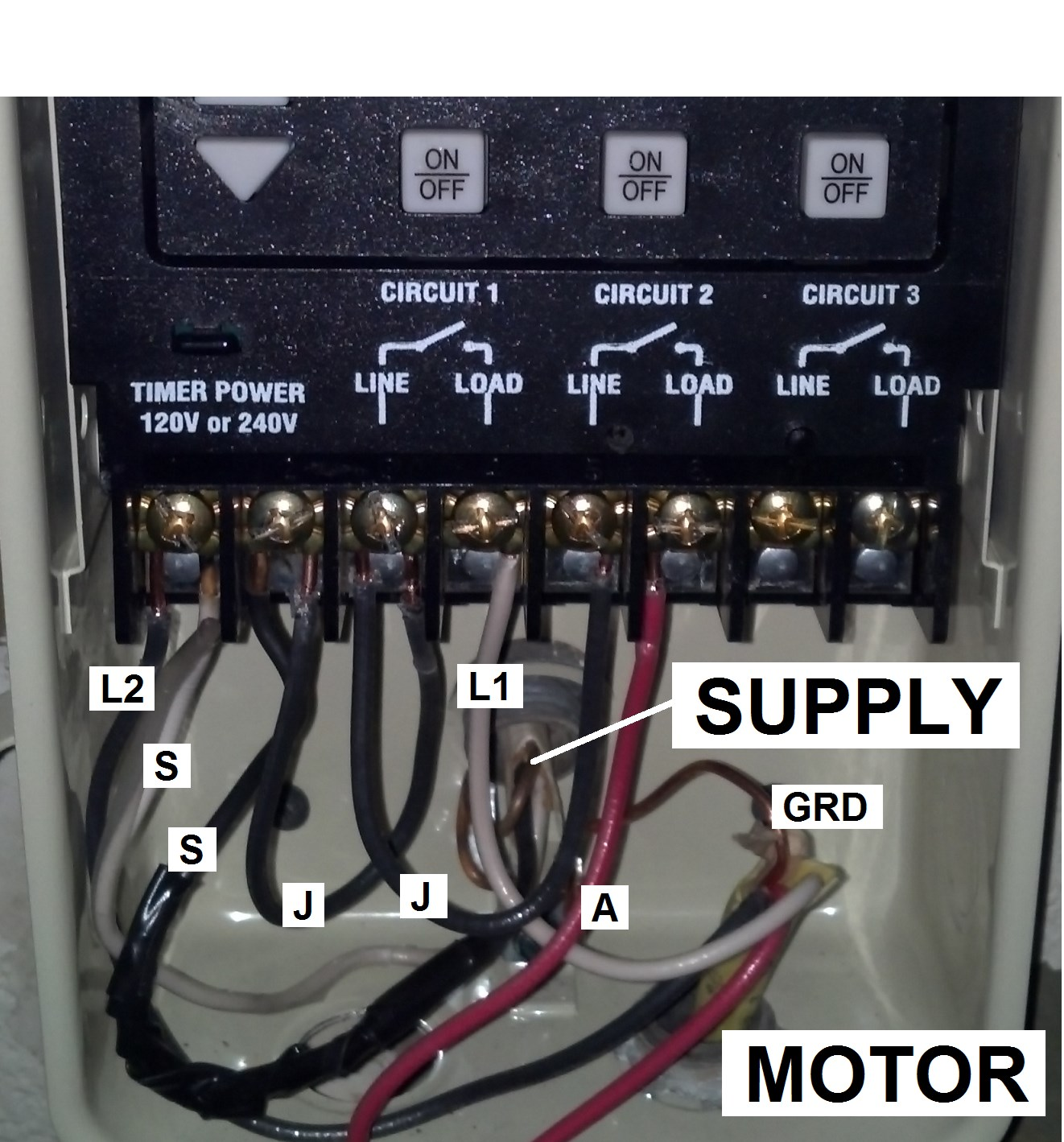 Timer Wiring on 3 Position Switch Wiring Diagram