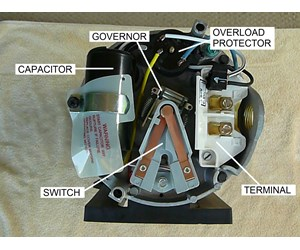 How To Replace The Start Switch On An Ao Smith Motor