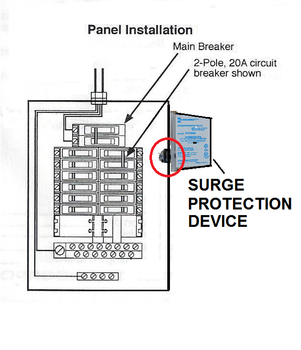 Surge Protection Device Wiring Diagram : 38 Wiring Diagram