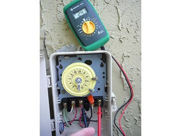 If you are installing a new pool pump or you have to troubleshoot a failing  pump, you will generally want to measure the motors supply voltage, ...