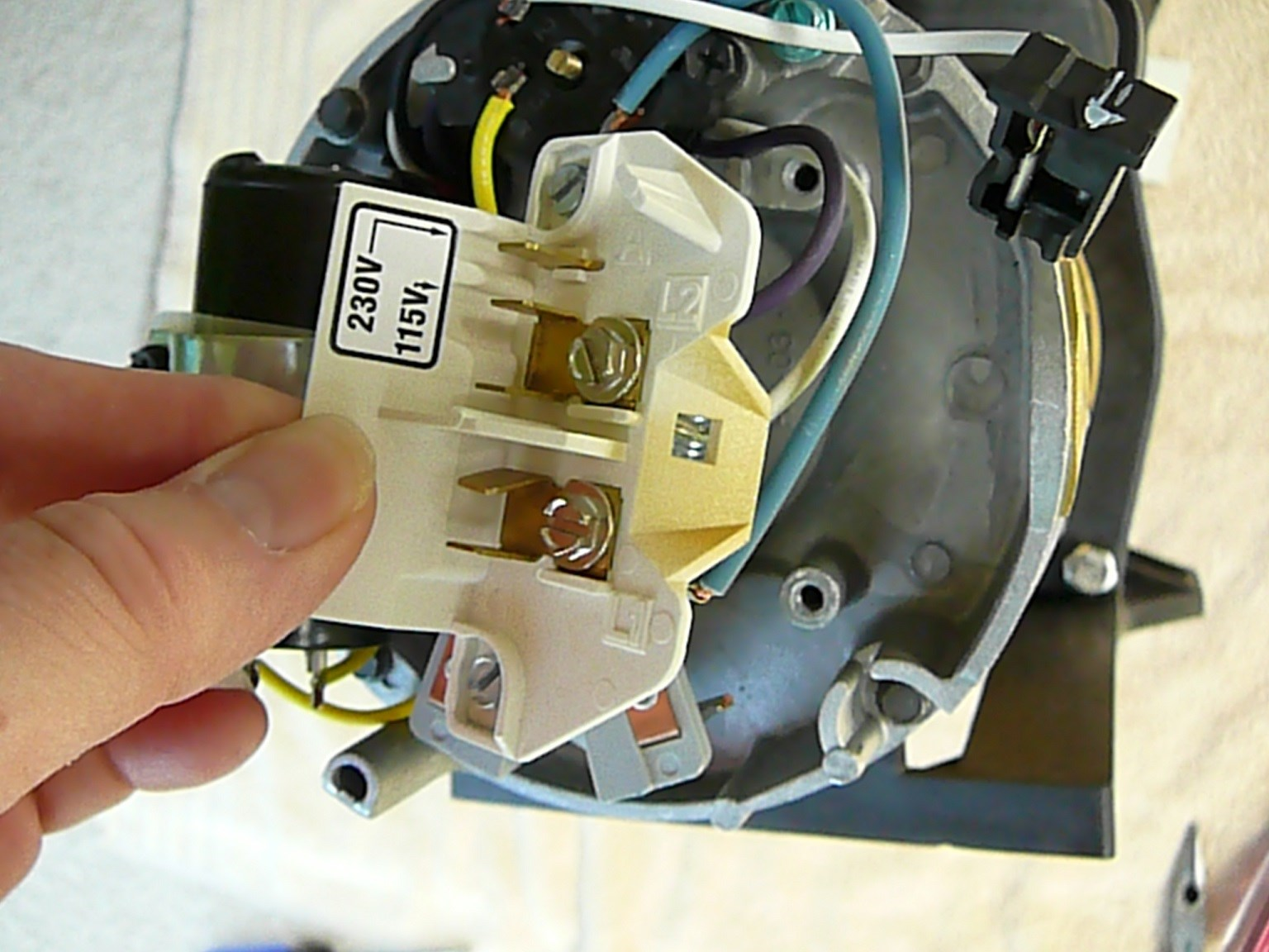 How To Replace The Terminal Board On An Ao Smith Motor