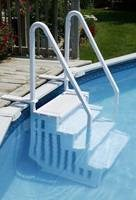 How To Weigh Down Your Pool Steps Inyopools Com
