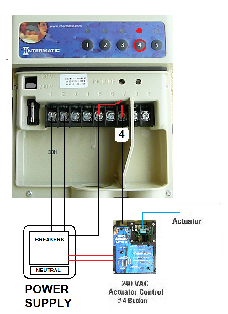 how to set up the intermatic pe653rc pool spa control system rh inyopools com