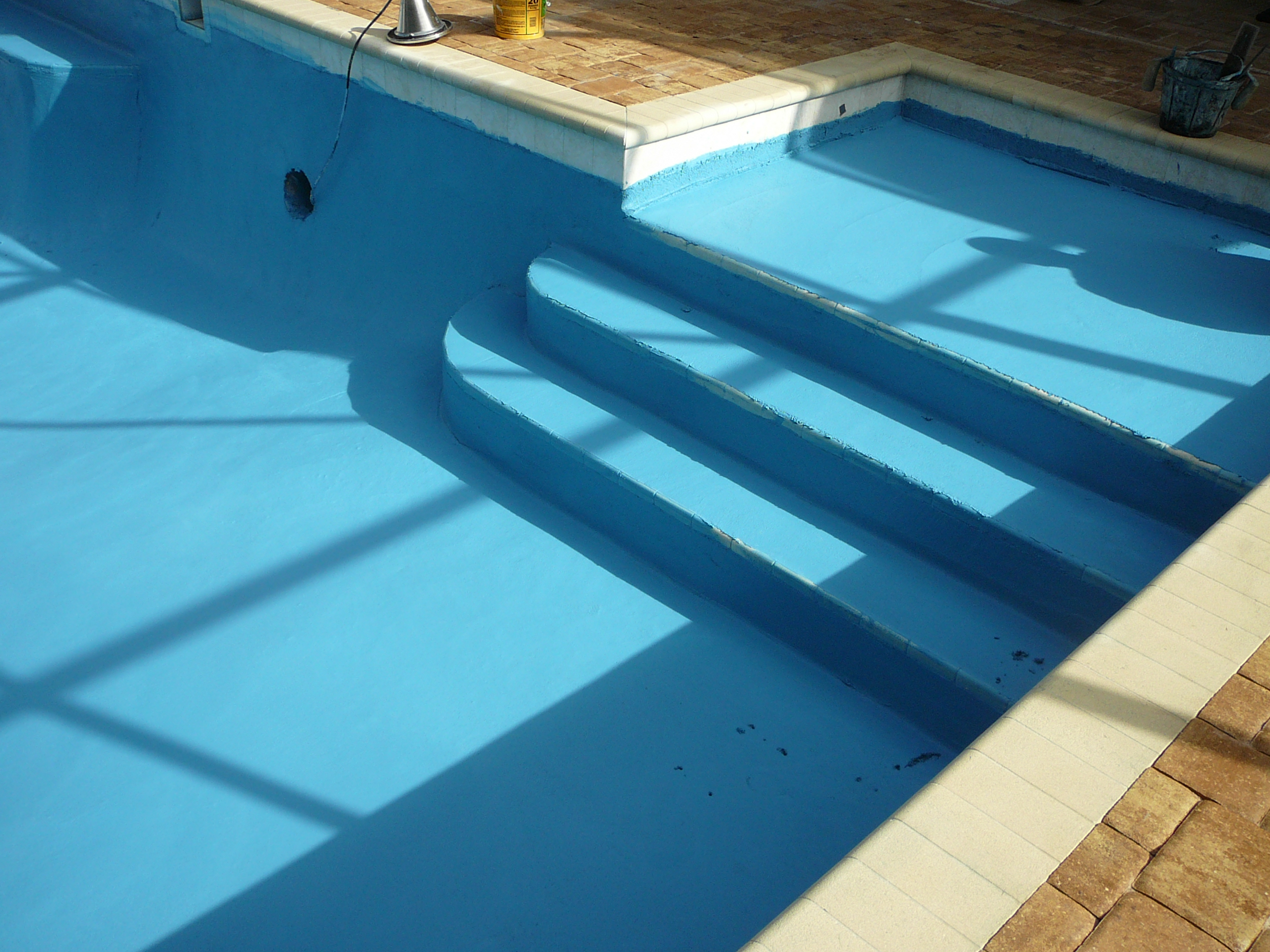 Closing inground pool with bottom drain images 376