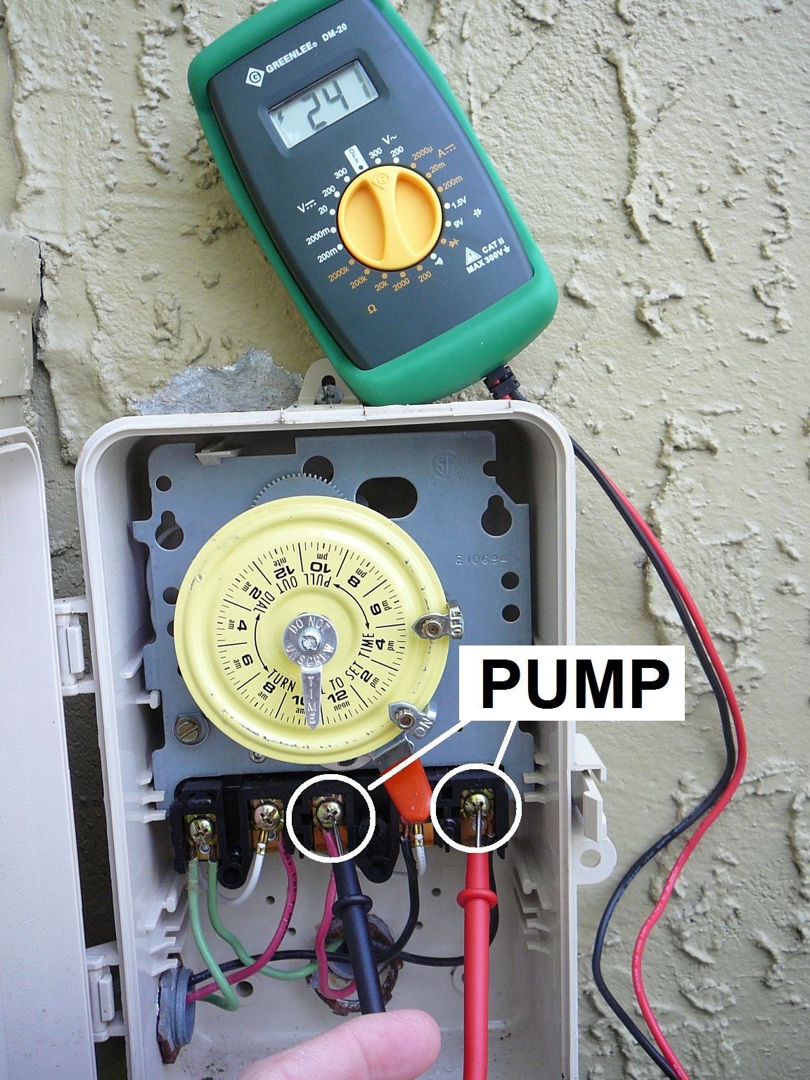 how to wire a pool pump inyopools com rh inyopools com wiring pool pump timer intermatic pool pump timer wiring diagram