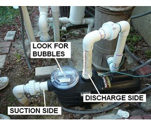How to Identify and Correct Air Leaks - INYOPools com