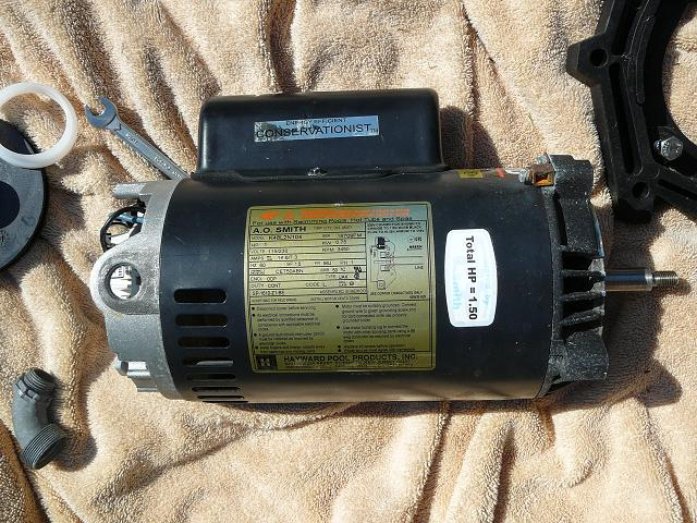 how to replace the motor on your pool pump inyopools com, wire diagram, hayward super pump wiring diagram l1