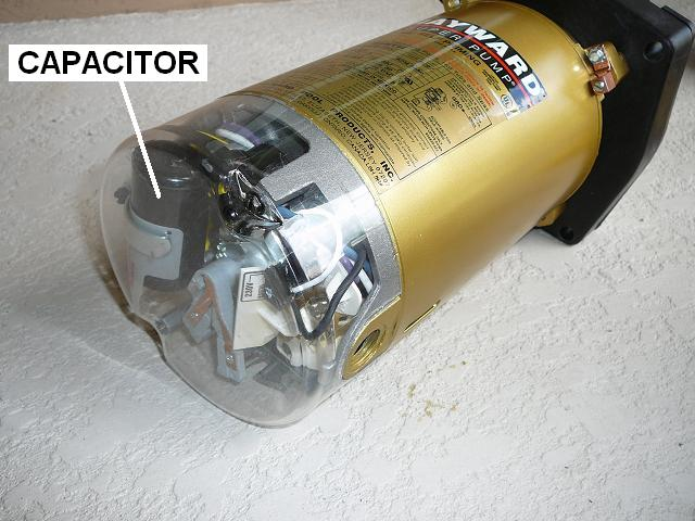 how to replace a pool pump capacitor inyopools com rh inyopools com Rotary Pump Motor Wiring A Pool Pump Motor Wiring