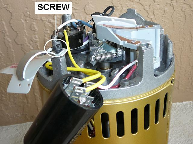 how to replace a pool pump capacitor inyopools com rh inyopools com Pool Pump Timer Wiring Diagram 2 Speed Pool Pump Wiring Diagram