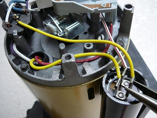 how to select the right capacitor for your pool pump motor rh inyopools com Hayward Super Pump Manual 2 Speed Pool Pump Wiring Diagram