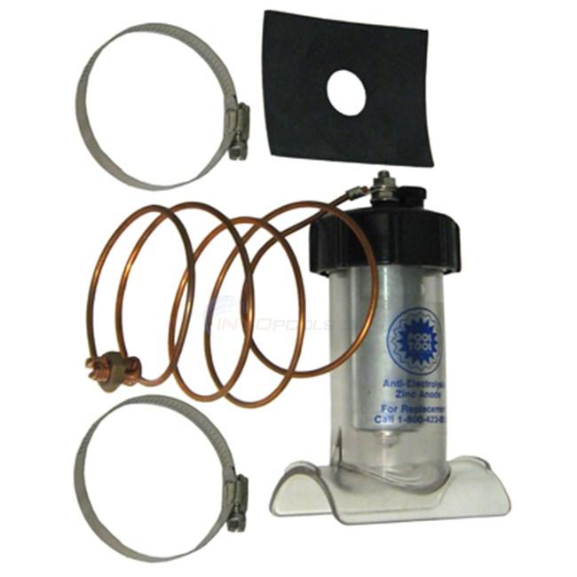 "Pool Tool Company Inline Anti-elect Zinc Anode, 1-1/2"""" Plumbing (104c) - 104C-1"