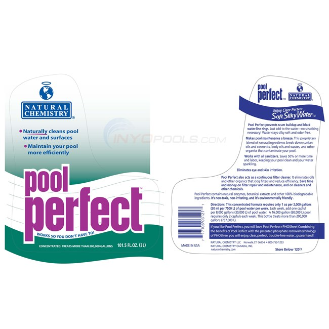 Natural Chemistry Pool Perfect 3 Liter - 03121