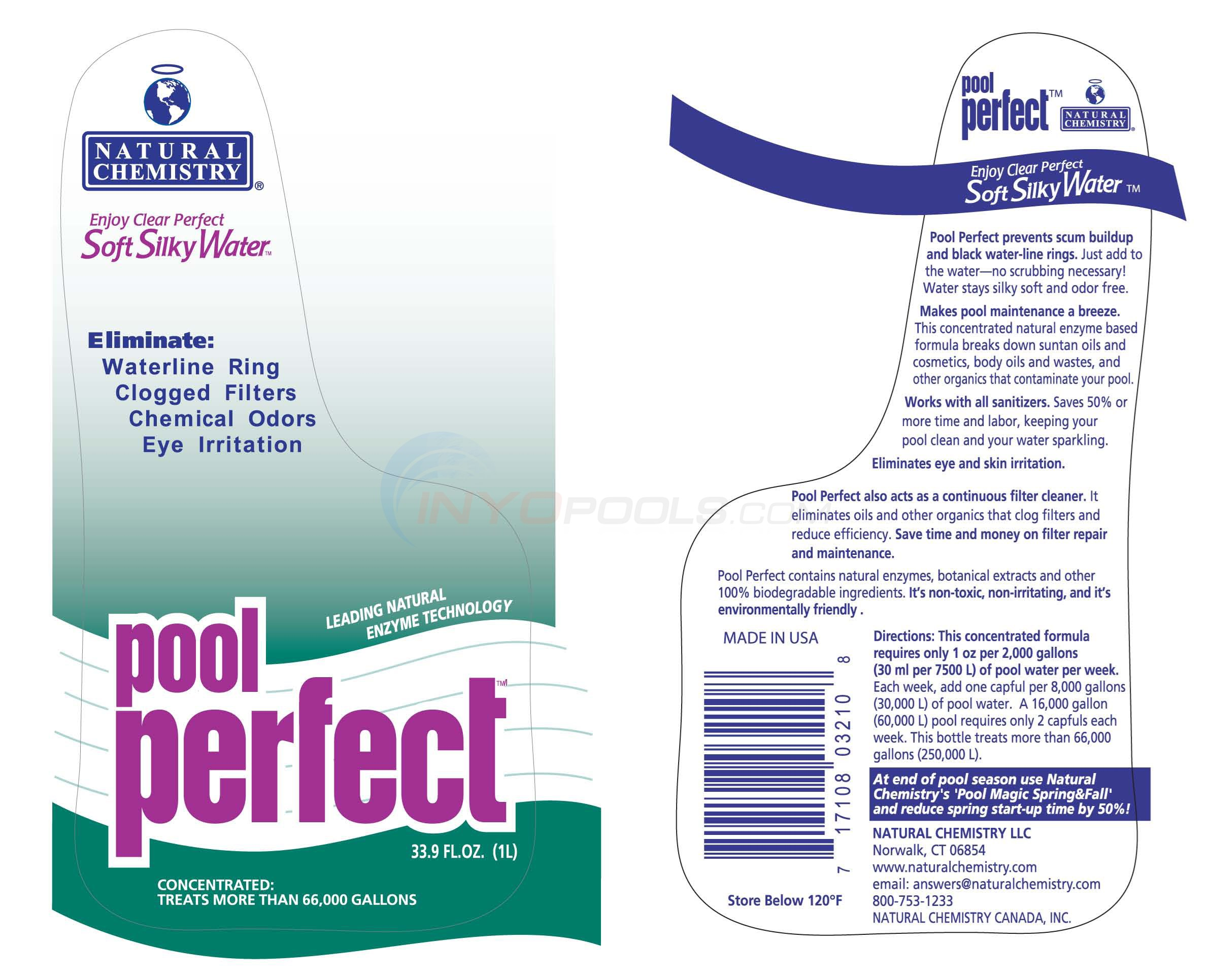 Natural Chemistry POOL PERFECT 1L - 03210