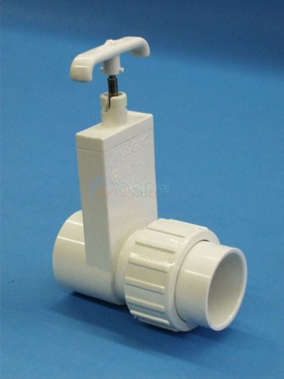"Slide Valve, 1 1/2"" SxS,union,1pc, - 0516-15"