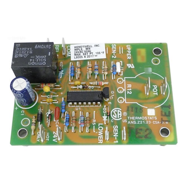 Pentair Circuit Board, Electronic Thermostat (070272)
