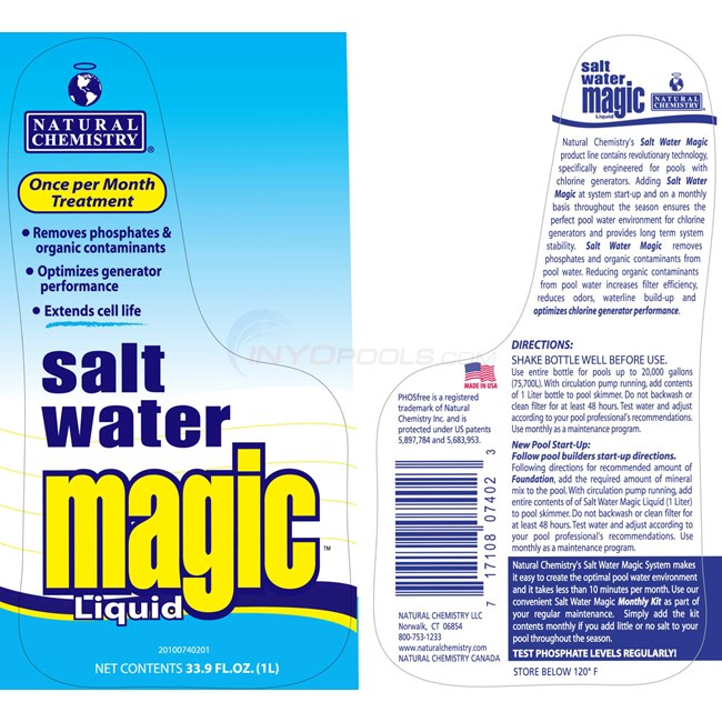 Natural Chemistry Salt Water Magic
