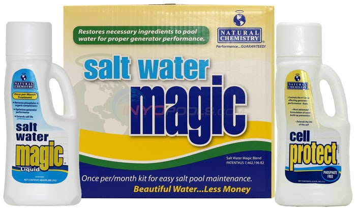 Salt Water Magic - Monthly Maintanence Kit