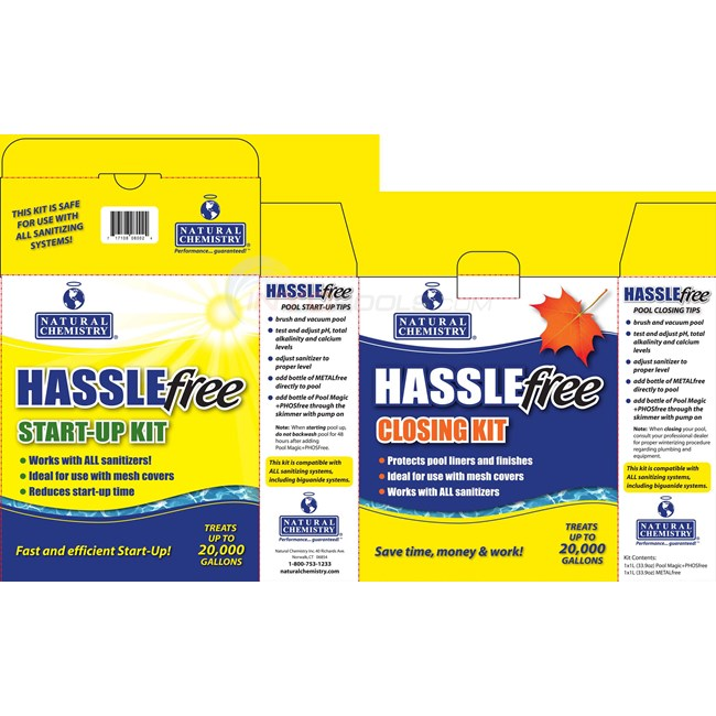 Natural Chemistry HASSLE FREE KIT - 08002