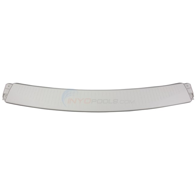 "Wilbar Curved Top Ledge 53"" Resin - Pearl (Single)  NO LONGER AVAILABLE REPLACED WITH 1010009A00 Champagne!!! - 1010002A00"