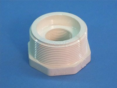 "Adapter Bushing, 2""MPT x 1""FPT PVC - 12BUSH"