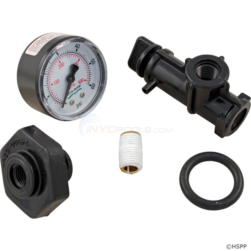 Valve And Gauge Assembly